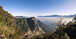 Yushans Gebirge