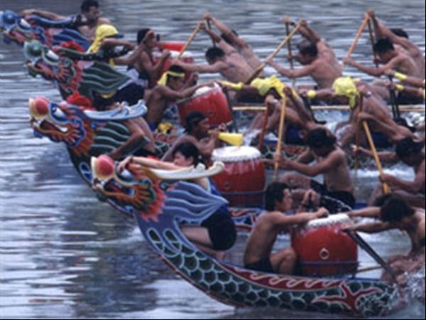 Drachenbootrennen in Yilan