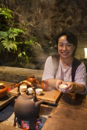 In Taiwan ist Teetrinken ein Muss