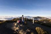 Verdiente Rast auf dem Mount Hehuan