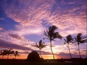 Sonnenuntergang auf Orchid Island
