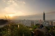 Blick auf das Taipei