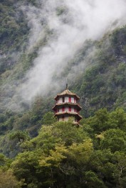 Eine Pagode im Taroko Nationalpark