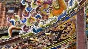 In Taipeh findet man viele prächtig verzierte Tempel