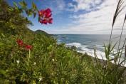 Blick auf die Küste von Taitung
